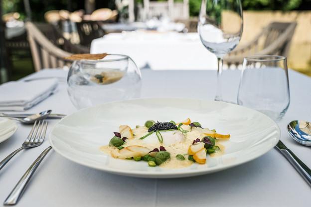 Le restaurant étoilé Les Jardins d'Anaïs fait partie des établissements présents sur la nouvelle plate-forme de bons d'achat gourmands Lux Food Hall. (Photo: Mike Zenari/Archives Maison Moderne)