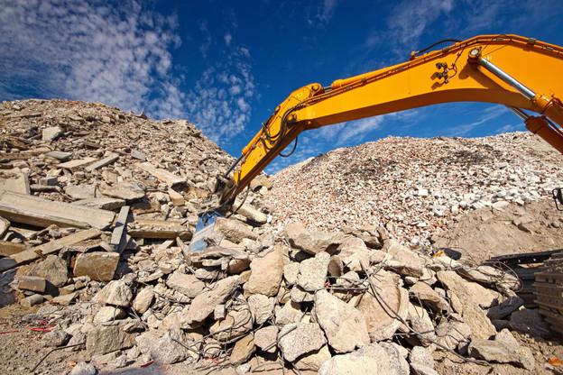 En cinq ans, de 2014 à 2018 – derniers chiffres disponibles –, le Luxembourg a exporté autant de déchets de la construction qu'au cours des 20 années précédentes. Alors que des capacités de stockage existent dans le pays. (Photo: Shutterstock)