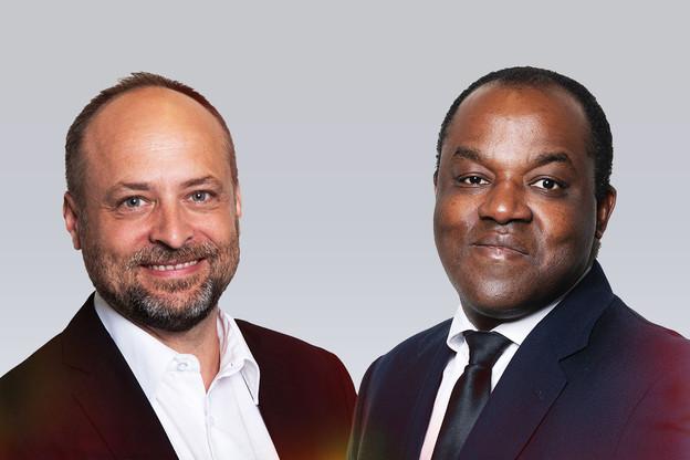 Thibaut Henry & Edouard Bokuetenge (Accenture). (Photo: Maison Moderne)