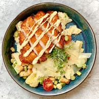 The Caesar salad from the Hertz Pop-up. (Photo: Maison Moderne)