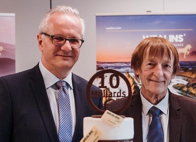 Marc Lauer (CEO de Foyer) et Jean-Louis Courange (CEO de WEALINS)  (Crédit: Wealins)