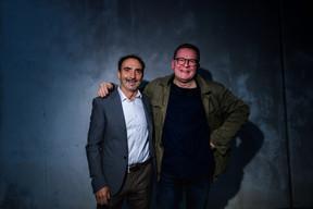 Christian Mosar (à droite) ((Photo: Nader Ghavami/Maison Moderne))