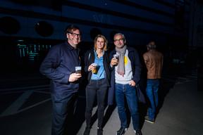 Charles Wennig, Beryl Bruck, et Mike Koedinger (Maison Moderne) ((Photo: Nader Ghavami/Maison Moderne))