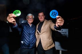Martin Kox (déi Gréng) et Pim Knaff (DP) ((Photo: Nader Ghavami/Maison Moderne))