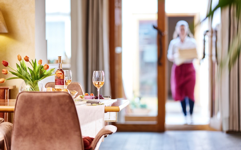 Le restaurant est très apprécié, notamment pour sa carte des vins. (Photo: WeinKulturgut)
