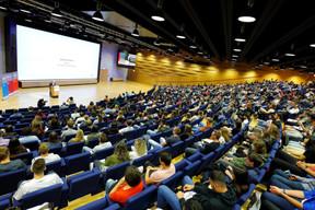 Le Welcome Day de l'Université du Luxembourg a accueilli les étudiants pour cette nouvelle année scolaire. ((Photo: Marc Schmit / Xero / Université du Luxembourg))