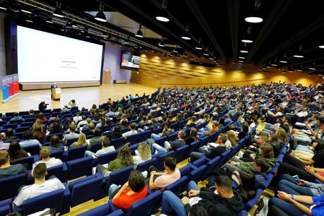 Le Welcome Day de l'Université du Luxembourg a accueilli les étudiants pour cette nouvelle année scolaire. (Photo: Marc Schmit / Xero / Université du Luxembourg)