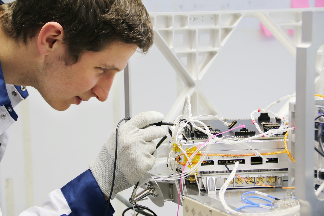 Rafal Modrzewski is on the verge of succeeding with the Finnish Earth observation start-up, which opened a research centre in Luxembourg last year. Luxembourg invested €18 million of public money in the project. (Photo: Iceye Oy)