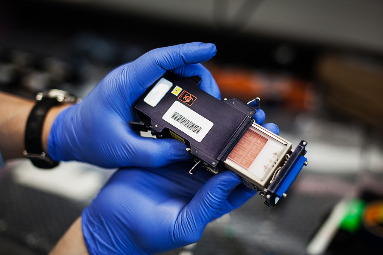 Testing microgravity in an object the size of a wallet, an idea born in 2014 at NASA and on which Yuri Gravity is working. The German start-up set up its research centre in Luxembourg last year. (Photo: Yuri Gravity)