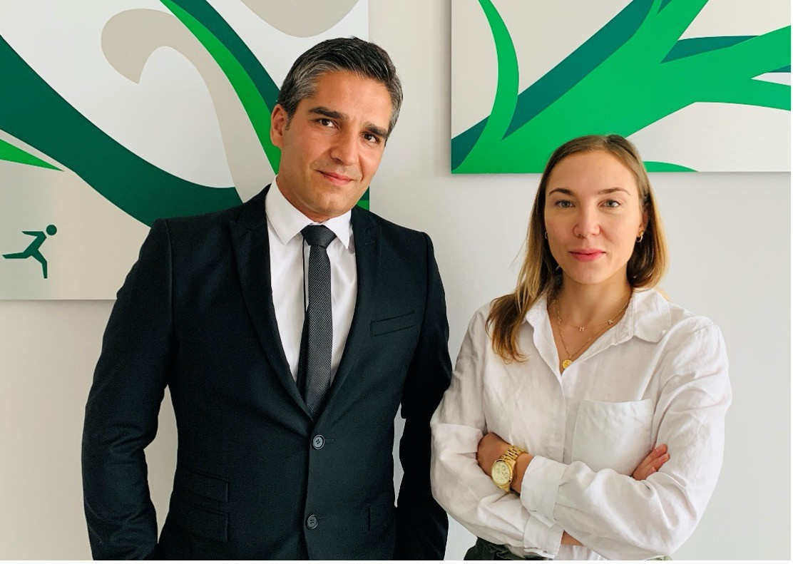 Hugo Larguinho Brás, Partner, and Laura Nietrzeba, Manager at Reply Luxembourg.  (Credit: Reply Luxembourg)