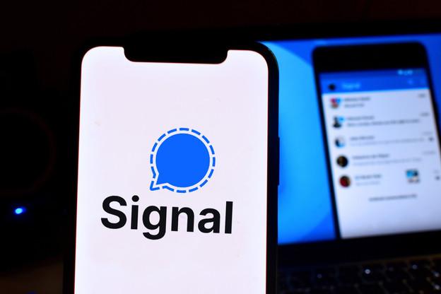Signal a enregistré 43 fois plus de téléchargements entre le 6 et le 10 janvier qu'au cours de la semaine précédente. Les nouvelles conditions d'utilisation de WhatsApp à partir de février vont-elles vraiment changer la donne? (Photo: Signal Messenger)