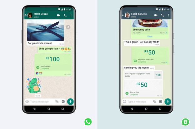 WhatsApp Pay a été lancé au Brésil. (Photo: Facebook)
