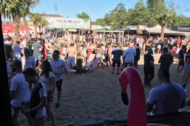 Wicki Beach ouvre du mercredi au dimanche, quand la météo est de la partie. (Photo:Wicki Beach)