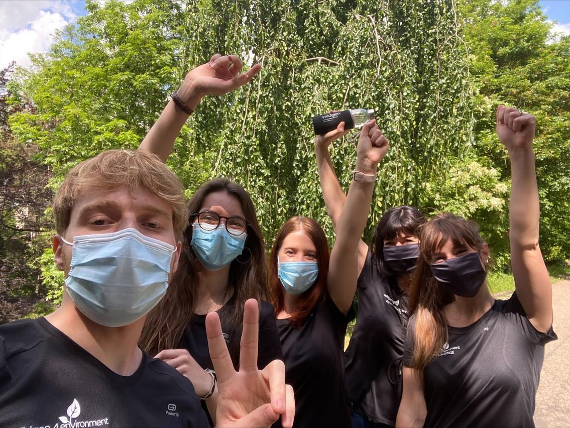 Les équipes de Wildgen motivées par le défi de l'été. (Photo: DR)