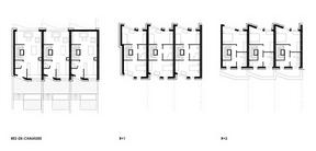 Les plans des maisons sont identiques d'une maison à une autre. ((Illustration: Fonds du logement - Team 31))