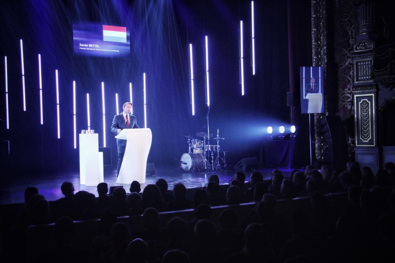 Xavier Bettel a proposé un discours aux accents européens dans la capitale de la Wallonie. (Photo: SIP)