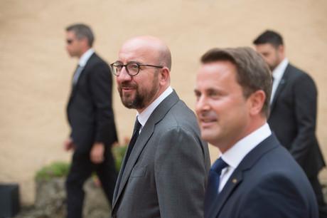 Xavier Bettel se rendra à Paris en compagnie de Charles Michel, le président du Conseil européen. (Photo: Anthony Dehez/archives)
