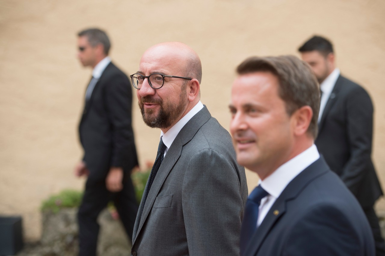 Xavier Bettel se rendra à Paris en compagnie de Charles Michel, le président du Conseil européen. (Photo: Anthony Dehez/archives)