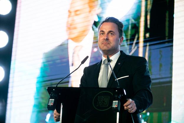 Sur la scène de l'ICT Spring, le Premier ministre Xavier Bettel a surtout invité les Européens à prendre part aux élections européennes de dimanche. (Photo: Edouard Olszewski)