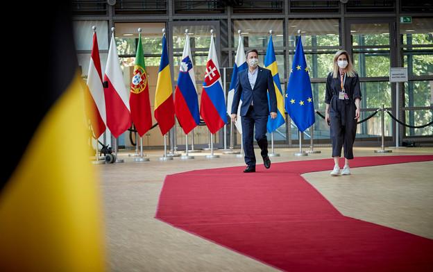XavierBettel entamait lundi le 4ejour de ce sommet européen marathon destiné à trouver un accord sur un plan de relance européen. (Photo: Commission européenne / Mario Salerno)
