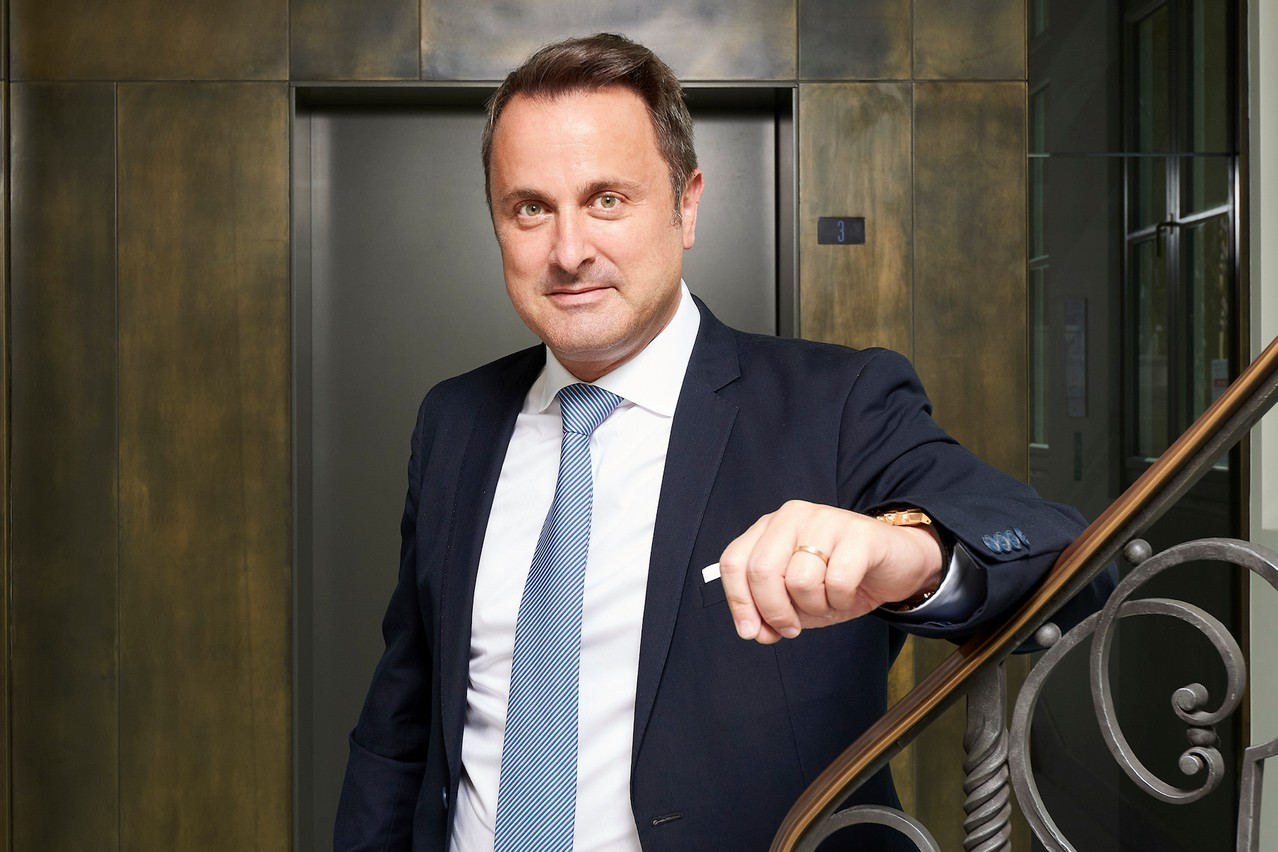 """Prime minister Xavier Bettel says the covid pandemic that has dominated the first half of his coalition government's second term in office has come at a cost, but that Luxembourg has """"managed to bear that cost"""" in terms of the economy, at least.   Andrès Leona"""