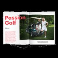 Le golf à l'honneur dans ce portfolio. ((Photo: Andrés Lejona / Maison Moderne))