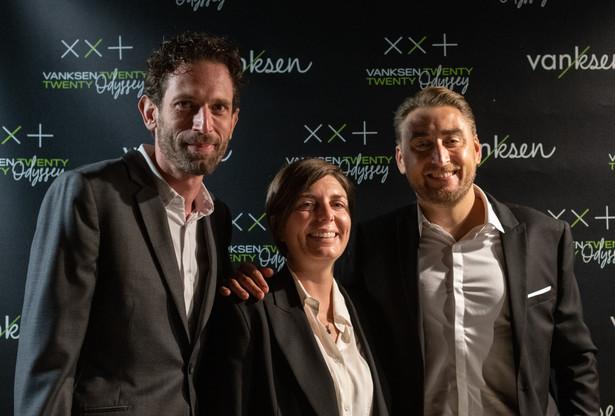 JeremyCoxet, CécileLorenzini et ArmandLebrun prennent les commandes de l'agence de communication Vanksen après le départ de XavierLesueur. (Photo: Frédérique Clement/Vanksen)