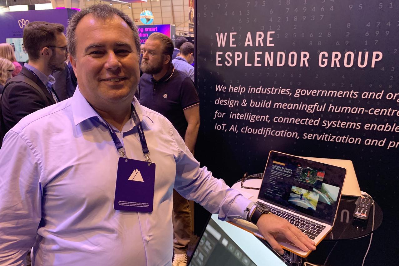 Fort de ses expériences précédentes, PascalKoster est devenu le meilleur ambassadeur de son nouveau projet, XBrain, une intelligence artificielle vendue comme un service à tous les projets «smart». (Photo: Paperjam)