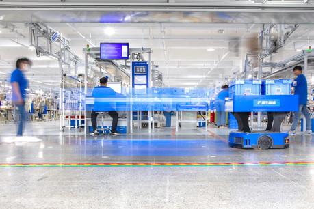 Cloud, internet des objets, robots, intelligence artificielle: Xunxi est dotée de toutes les technologies pour accélérer et customiser les productions. (Photo: Alibaba Group)
