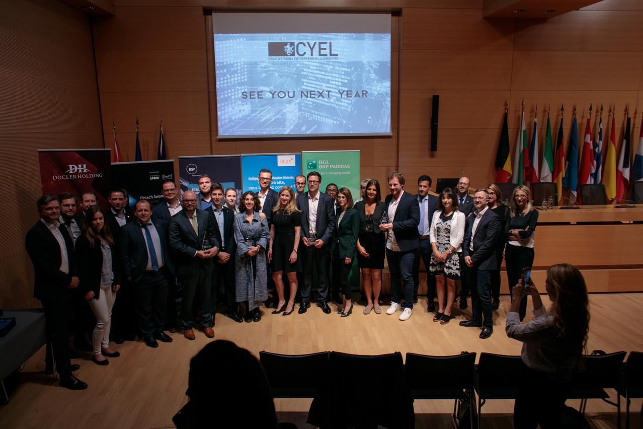 Le jury était composé de partenaires de JCI Luxembourg. (Photo: Matic Zorman)