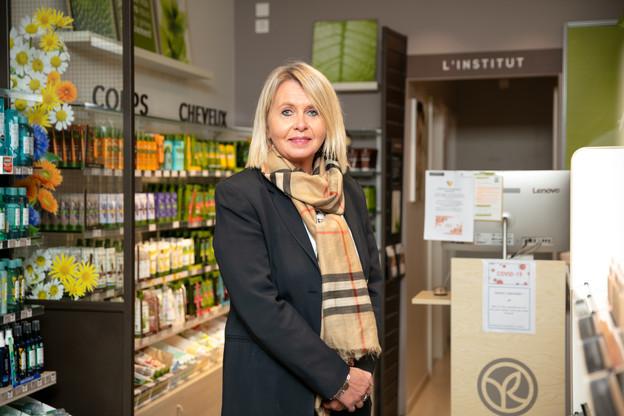 KarineEisenbarth pilote cinq magasins et instituts YvesRocher exploités en franchise au Luxembourg. (Photo: Romain Gamba/Maison Moderne)