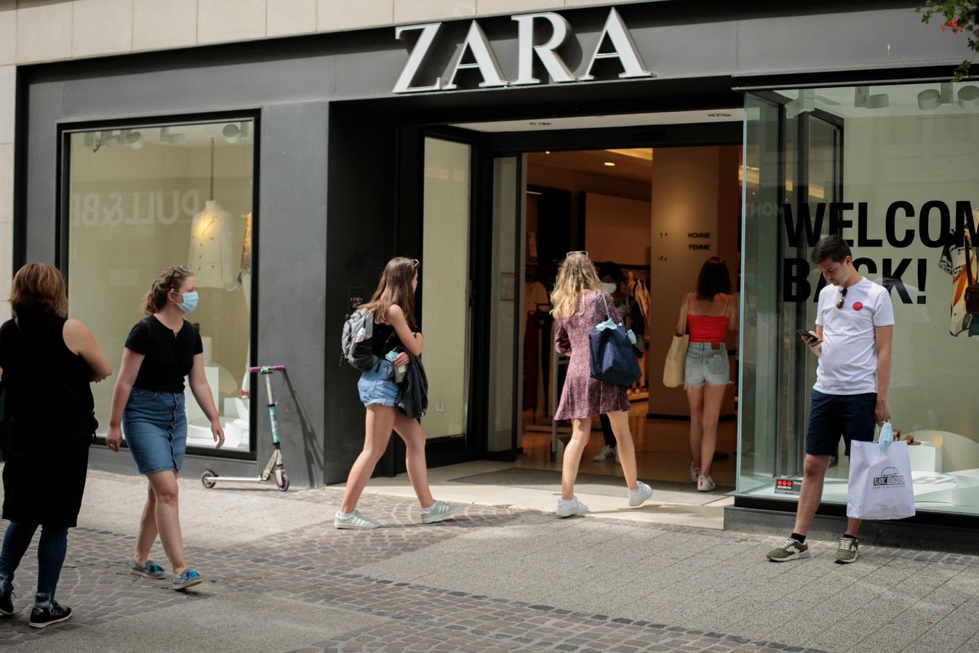 Zara closed its downtown store in the capital on 30 June. Library picture: Matic Zorman/Maison Moderne