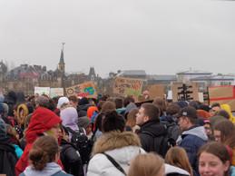 These photos were taken at the YFC strike on 15.03.2019. Photo: Marks Polakovs
