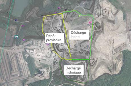 La décharge du «crassier» de Differdange comporte trois zones. Parmi celles-ci, au moins une, le «dépôt provisoire», ne serait pas régularisée. (Photo: ArcelorMittal)