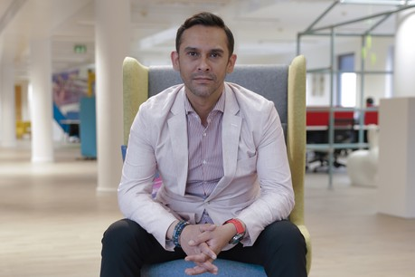 Deux ans et demi après son arrivée, le CEO de la Lhoft, Nasir Zubairi assure que les fondations sont là, au service de l'industrie financière qui doit saisir les opportunités. (Photo: Romain Gamba)