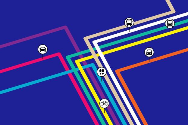 10x6 Mobilité: Les défis de la Place luxembourgeoise