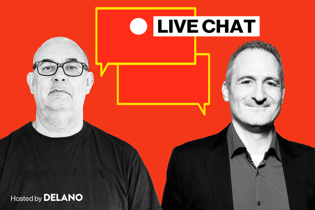 Delano Live Chat with Chris Pinchen